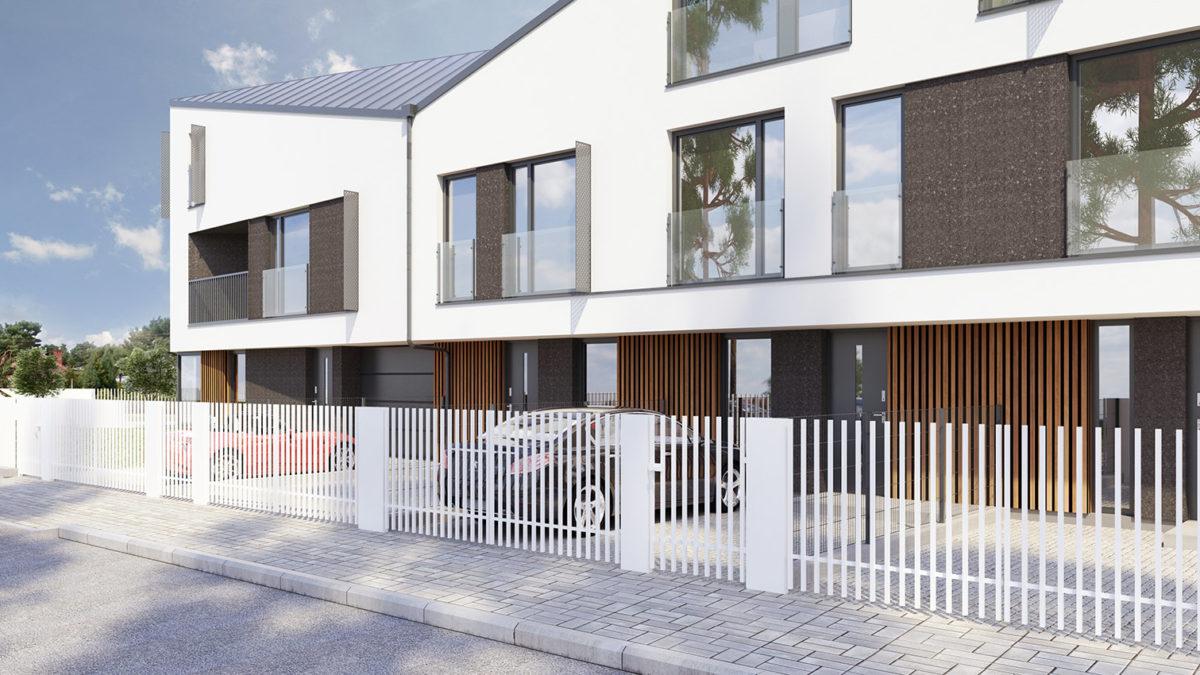 Apartamenty Matejki Legionowo - widok z ulicy